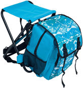 Asstd National Brand Stalwart Backpack with Foldable Stool