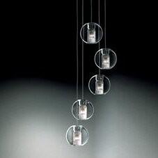 Leucos Fairy 5 - Light Cluster Globe Pendant