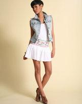ASOS Embroidered Waist Mini Skirt