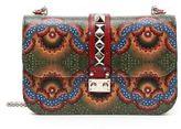 Valentino Rocklock Handpainted Shoulder Bag