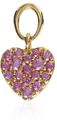 Loquet 18kt rose gold Heart motif charm