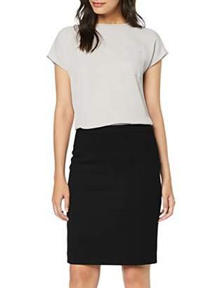 S'Oliver BLACK LABEL Women's 11.908.78.6680 Skirt, Blue Blue 5959, 14 (Size: )