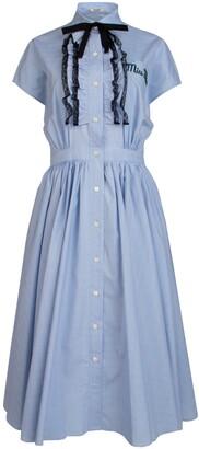Miu Miu Zephir Check Dress