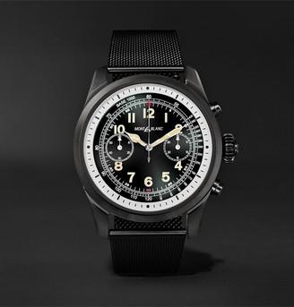 Montblanc Summit 2 42mm Dlc-Coated Stainless Steel Smart Watch, Ref. No. 119723