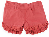 Pumpkin Patch Frill Hem Shorts