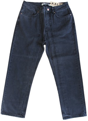 Aalto Black Cotton Jeans for Women