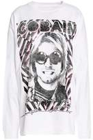 R 13 Printed Cotton-Jersey T-Shirt