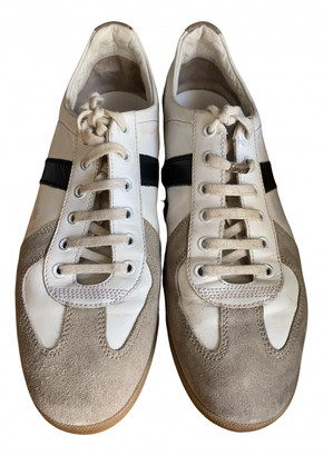 Christian Dior B18 White Leather Trainers