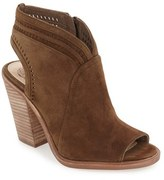 Vince Camuto Women's 'Koral' Perforated Open Toe Bootie