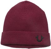True Religion Men's Ribbed-Knit Watch Cap