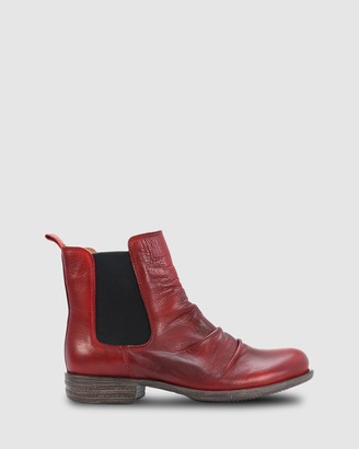 EOS Women's Red Chelsea Boots - Willo - Size One Size, 37 at The Iconic