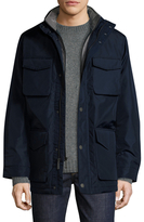 Brooks Brothers Nylon Stand Collar Jacket