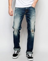 True Religion Jeans Geno Flap Cpsm Concrete Lake