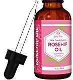 Fine Lines Leven Rose Organic Unrefined Rosehip Oil for Healthier Hair and Softer Skin, 1 fl. oz.