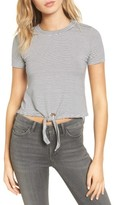 De Lacy Women's Delacy York Knot Front Top