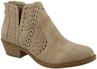 Top Moda Women's Casual boots KHAKI - Khaki Zopa Bootie - Women