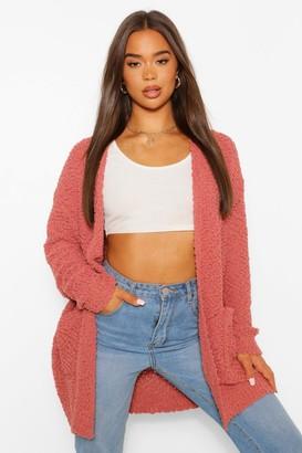 boohoo Textured Knit Cardigan