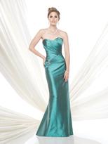 Mon Cheri Ivonne D - Ruched Sweetheart Sheath Gown 115D82