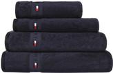 Tommy Hilfiger Plain Navy Range Towel - Hand Towel