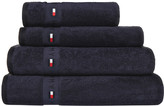 Tommy Hilfiger Plain Navy Range Towel