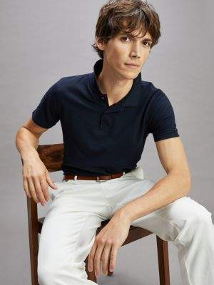 Tommy Hilfiger Micro Texture Slim Fit Polo