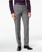 Bar III Men's Slim-Fit Medium Gray Textured Tuxedo Pants, Only at Macy's