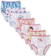 My Little Pony Handcraft Little Girls' Rotating Print Underwear Set (Pack of 7)