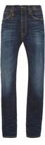 R 13 Kate Stretch High-Rise Slim-Leg Jeans