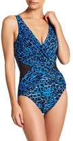 Miraclesuit Miracle Suit Purrfection Print One-Piece Swimsuit