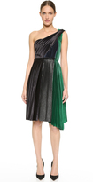 Cédric Charlier One Shoulder Dress