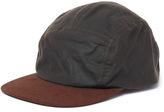Barbour Waxed Cotton Flat Bill Cap