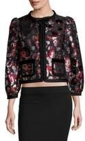 Marc Jacobs Floral Jacquard Jacket