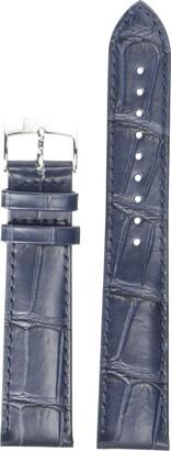 Tissot Leather Calfskin Blue Watch Strap 20mm Width (Model: T600041534)