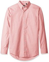 Izod Men's Big and Tall Essential Solid Long Sleeve Shirt