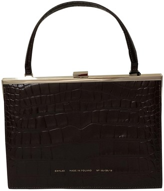 CHYLAK Brown Leather Handbags