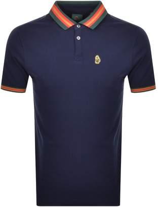 Luke 1977 Shooting Star Polo T Shirt Navy