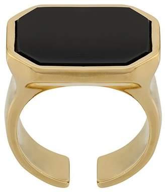 Isabel Marant rectangular stone ring