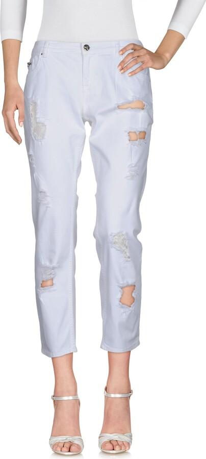 Silvian Heach Denim pants - Item 42664673VQ