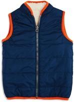 Splendid Boys' Reversible Sherpa Vest