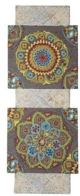 Company C Tango Hand-Tufted Wool Gray Area Rug CompanyC Rug Size: Novelty 8' x 10'