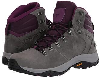 Columbia 100MWtm Titanium Outdrytm (Ti Grey Steel/Black Cherry) Women's Shoes