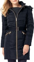 Phase Eight Paula Faux Fur-Trim Puffer Coat