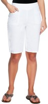 """Denim & Co. How Timeless"""" Bermuda Shorts with Pockets"""