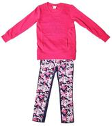 Juicy Couture Girl's Long Sleeve Shirt & Pants Set