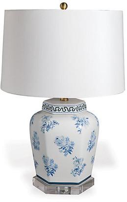 Madcap Cottage By Port 68 Isleboro Eve Table Lamp - Blue/White
