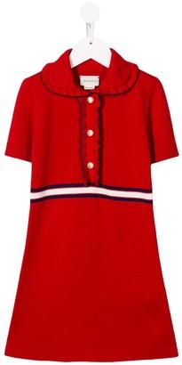Gucci Kids Collared Dress