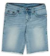 True Religion Boys' French Terry Geno Shorts - Little Kid