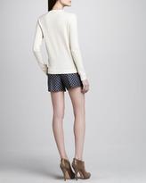 Theory Clah Relaxed Jacquard Shorts