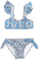 Seafolly Cute D'Azure Two-Piece Swimsuit (Toddler Girls & Little Girls)