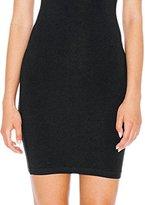 American Apparel Women's Cotton Spandex Mini Length Dress